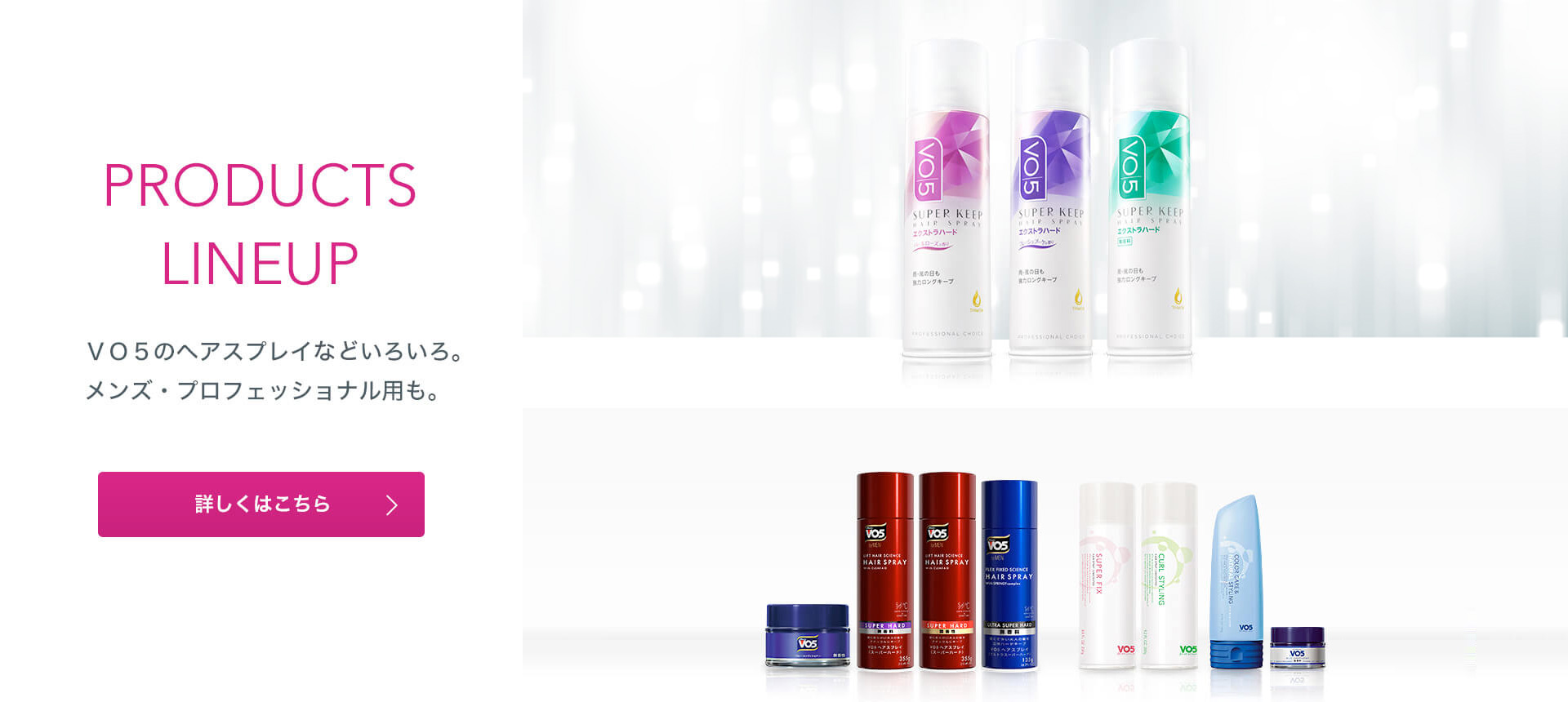 PRODUCTS LINEUP